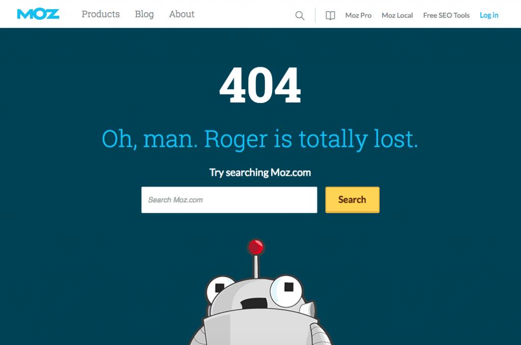 moz 404 error page